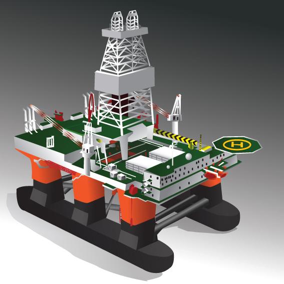 Figure 4.4 – Semi-submersible Platforms