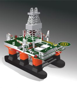 Figure 4.4 – Semi-submersible Platforms